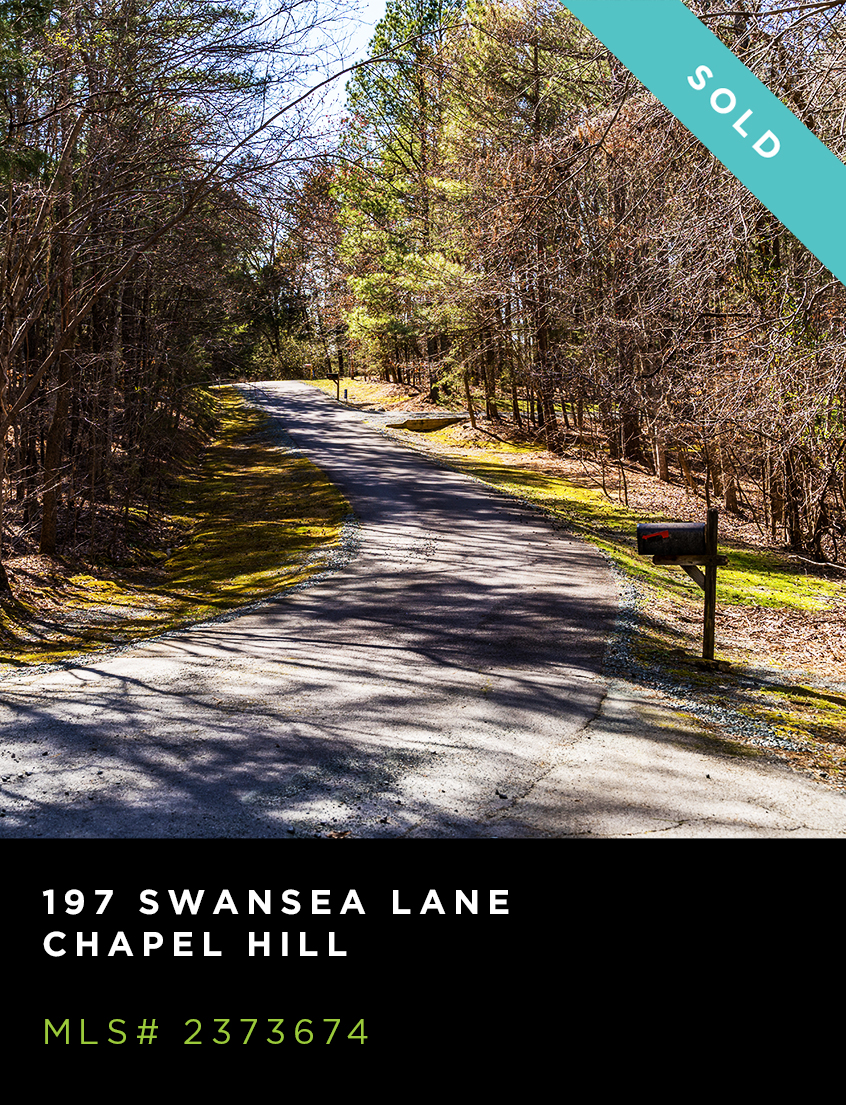 197 Swansea Lane land for sale, wooded, curved road